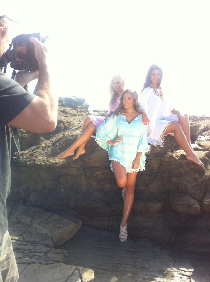 Behind The Scenes, Go Girl Summer 2013 range